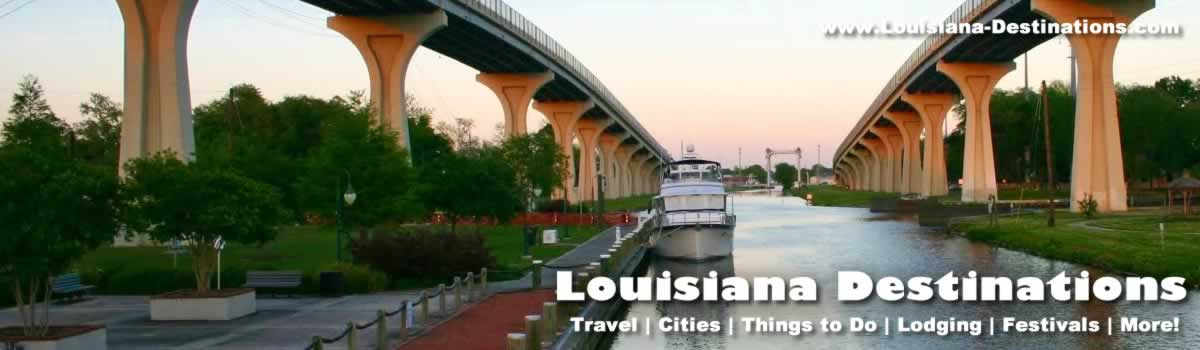 Houma Louisiana Travel Information Attractions Tourism Fishing – Louisiana Tourist Attractions Map