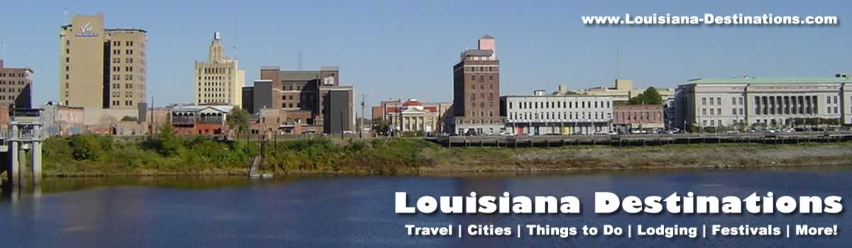 Monroe and West Monroe Louisiana travel tourism Duck Dynasty – Louisiana Tourist Attractions Map