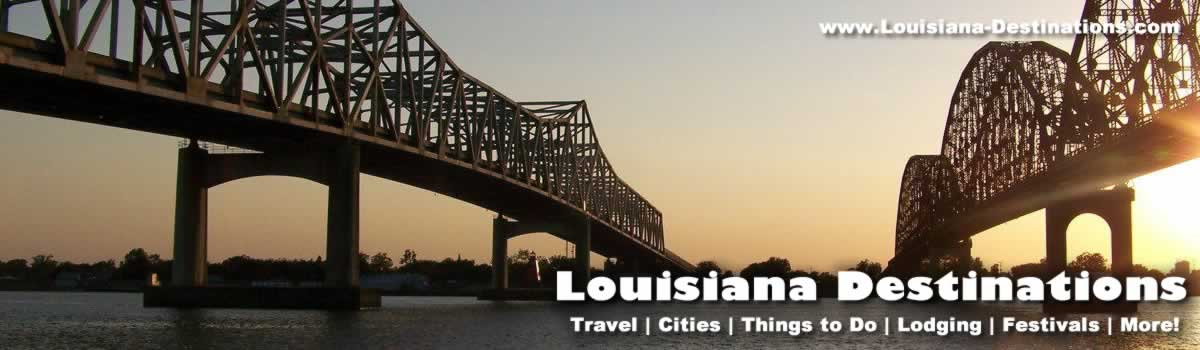 Morgan City Louisiana Travel Information Tourism Attractions – Louisiana Tourist Attractions Map