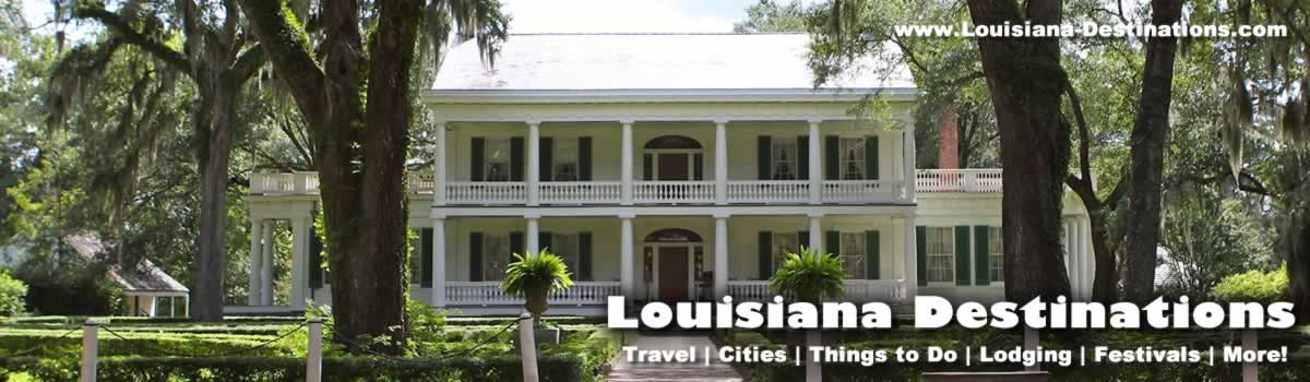 Louisiana travel guide tourist destinations attractions things – Louisiana Tourist Attractions Map