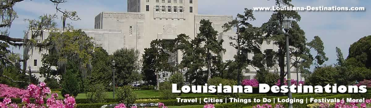 Photographs Of The Louisiana State Capitol Building And