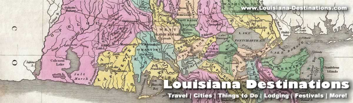 Louisiana Maps Map Of Louisiana Parishes Interactive Map Of Louisiana