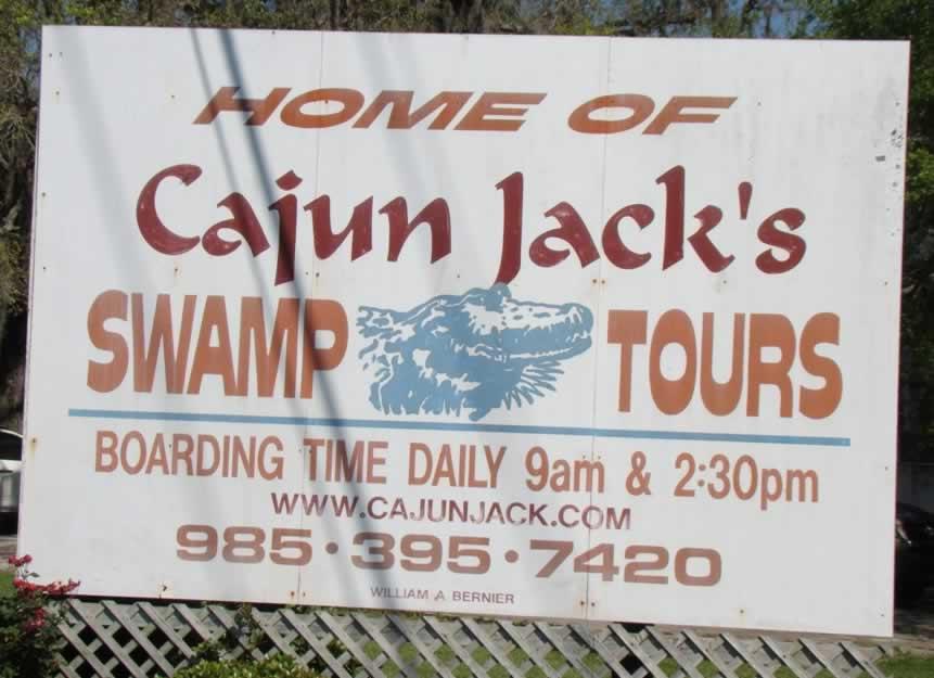 Swamp Tours Near White Castle Pierre Part
