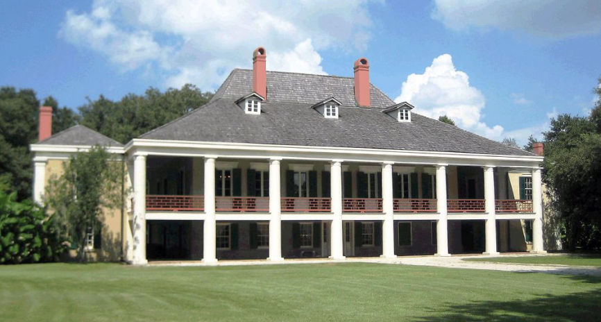 Destrehan Plantation in Louisiana