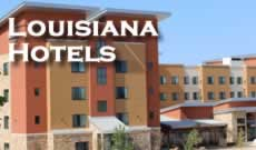 Louisiana hotel guide, hotel listings, hotel maps and lodging reviews