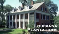 Louisiana plantation and ante-bellum homes