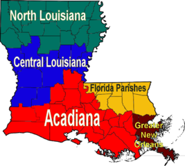 Louisiana Map Parishes.Louisiana Maps Map Of Louisiana Parishes Interactive Map Of Louisiana