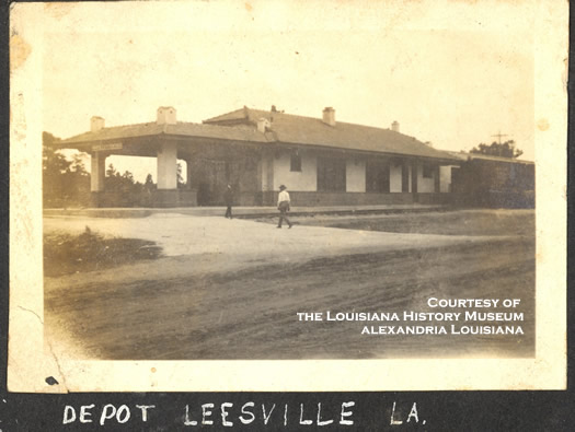 Railroad depot, Leesville, Louisiana