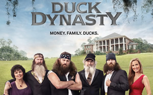 duck dynasty on a e about the duck commander family of phil robertson