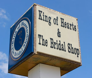 "King of Hearts & The Bridal Shop, 1707 Hudson Lane Monroe, LA ... filming location of Episode 33, ""Duck Be A Lady"""