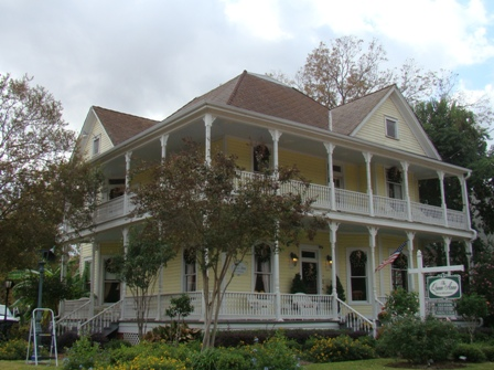 One of many bed & breakfast properties in Natchitoches, Louisiana
