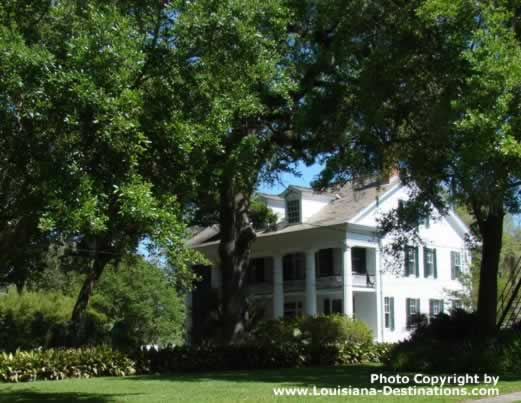 Beautiful home in New Iberia, Louisiana, along Bayou Teche