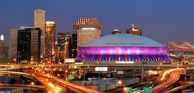 New orleans louisiana travel tourism attractions 2018 for Mercedes benz superdome suites