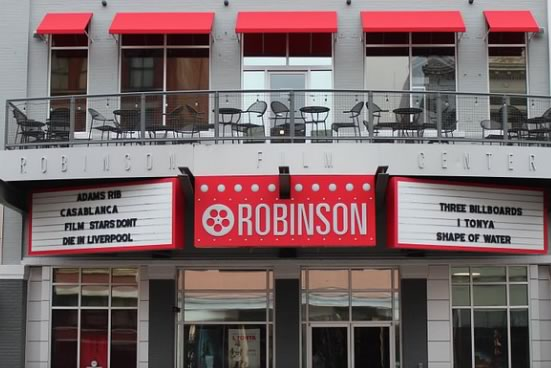 Robinson Film Center in Shreveport, Louisiana