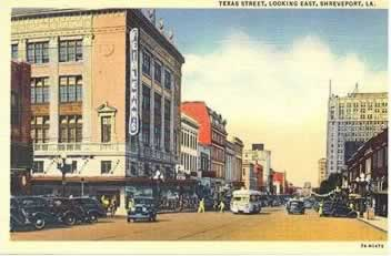 Texas Streeet, Looking East, Shreveport Louisiana