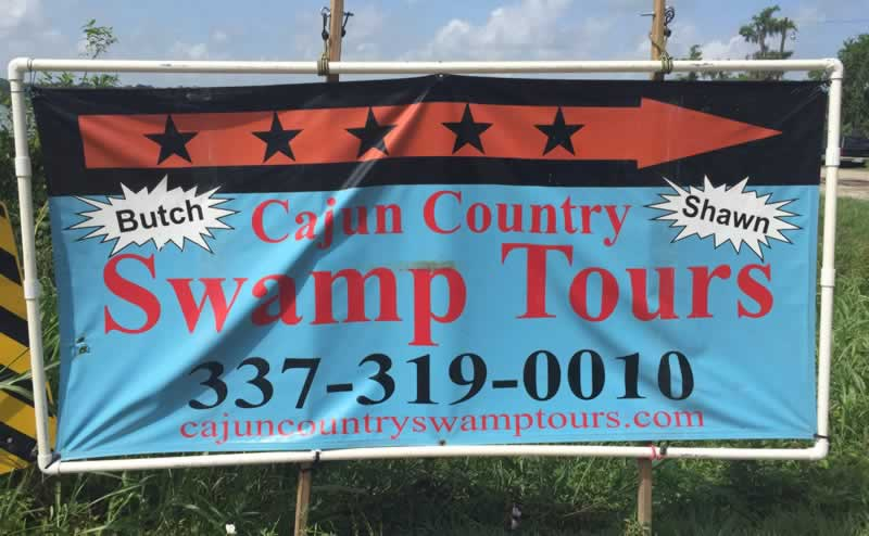 Cajun Country Swamp Tours of Honey Island Louisiana