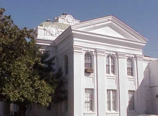 Lafourche Parish Courthouse in downtown Thibodaux, LA
