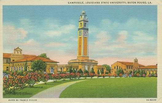 Campus of Louisiana State University in Baton Rouge