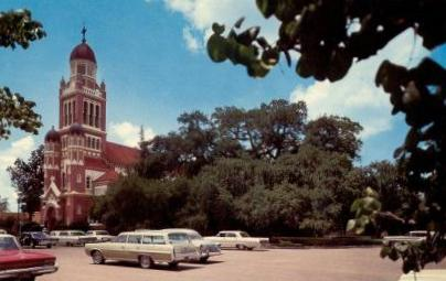 St. John's Catholic Cathedral, Lafayette, Louisiana, circa 1960s