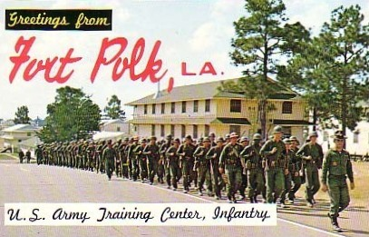 Greetings from Fork Polk, Louisiana ... U.S. Army Training Center, Infantry