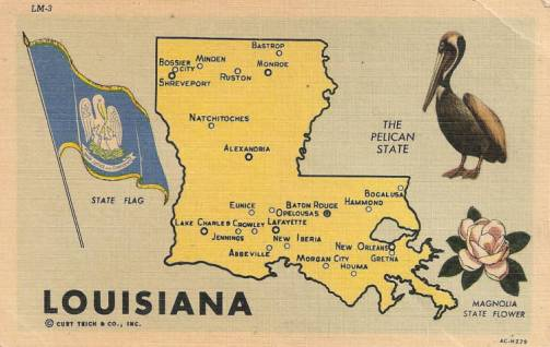 Louisiana Maps Map of Louisiana Parishes interactive map of