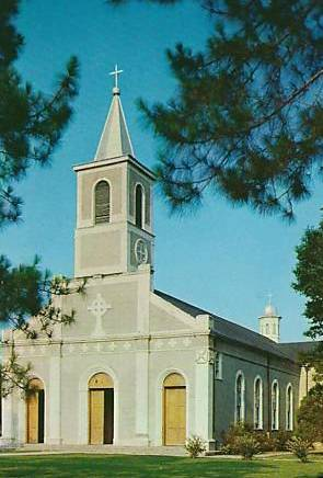 Historic St. Martin de Tours Catholic Church , Saint Martinville Louisiana