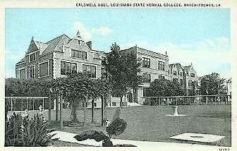 Caldwell Hall, Louisiana State Normal College (later renamed Northwestern State University)