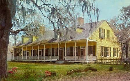 The Cottage Plantation in St Francisville, Louisiana