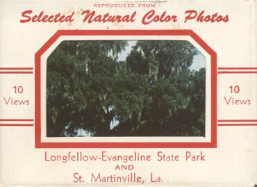 Longfellow-Evangeline State Park and St. Martinville, LA