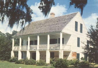 Acadian House Museum, Longfellow-Evangeline State Park, St. Martinville, Louisiana