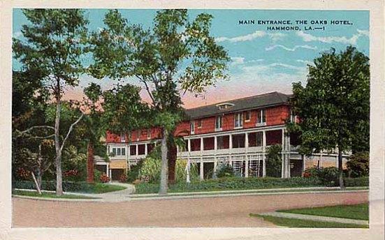 The Oaks Hotel In Hammond Louisiana
